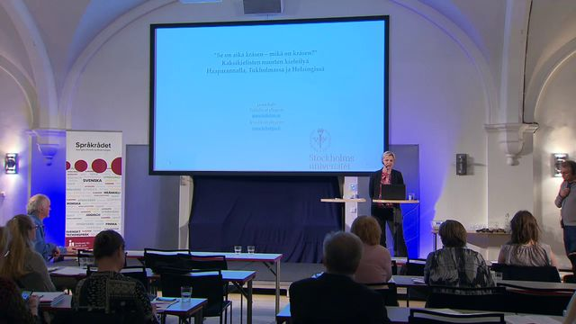 UR Samtiden - Språkseminarium i finska 2018 : Transspråkande bland tvåspråkiga ungdomar