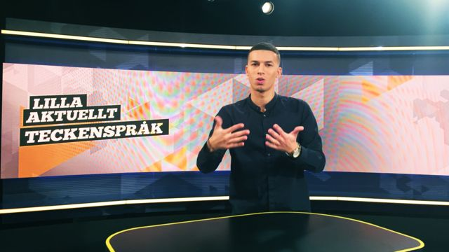Lilla Aktuellt teckenspråk : 2018-09-21