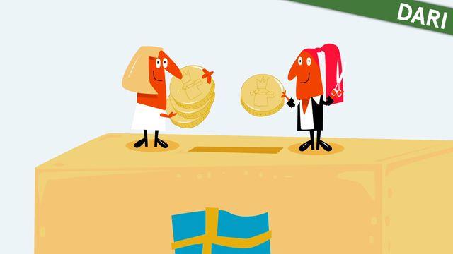 Nyfiken på Sverige - dari : Skatten