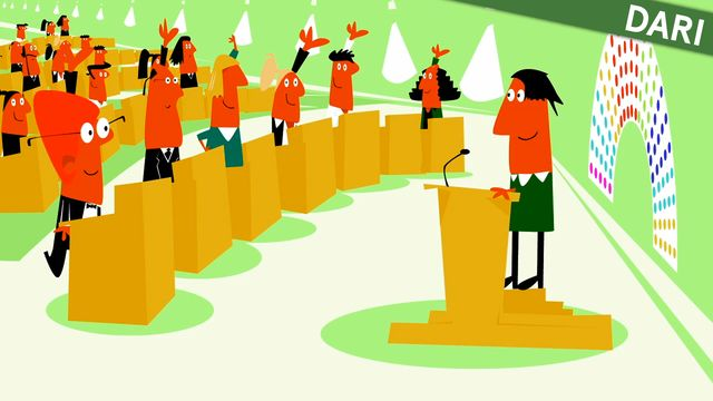 Nyfiken på Sverige - dari : Den svenska demokratin