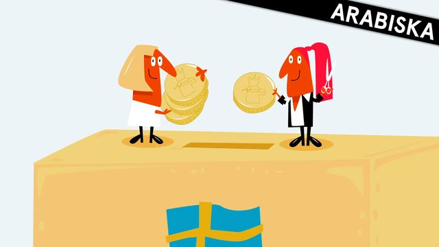 Nyfiken på Sverige - arabiska : Skatten