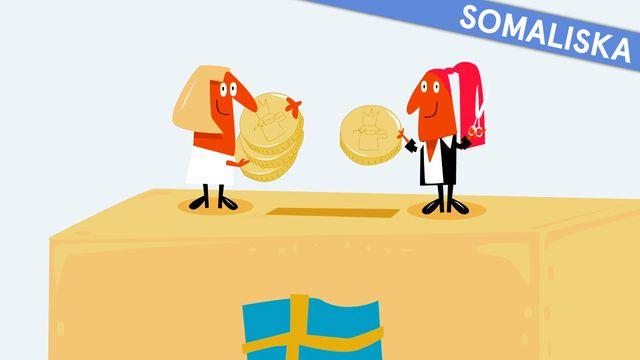 Nyfiken på Sverige - somaliska : Skatten