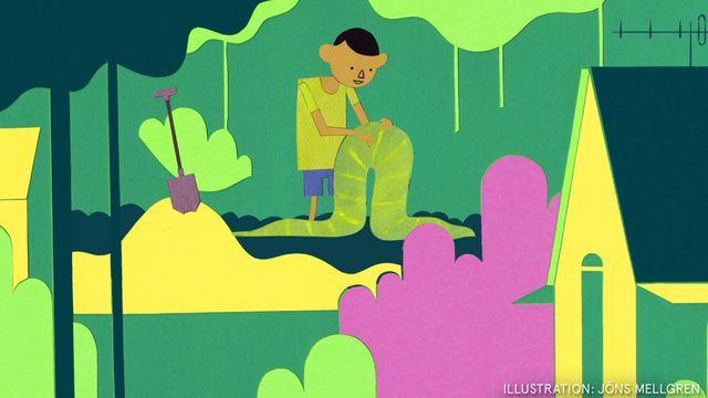 Godnattsagor - svensk romani : Ormskinnet