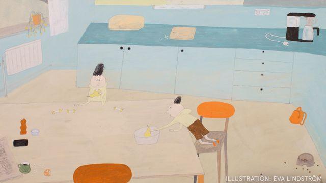 Godnattsagor - svensk romani : Sylvia och Sami