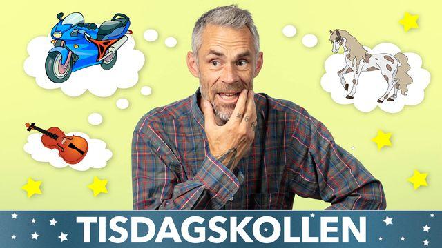 Tisdagskollen : Kari + rymden = sant