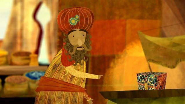 Folksagor i världen - jiddisch : Kalifen som förvandlades till en stork