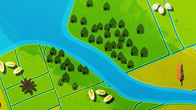 Fatta historia - kortversion : Flodkulturer