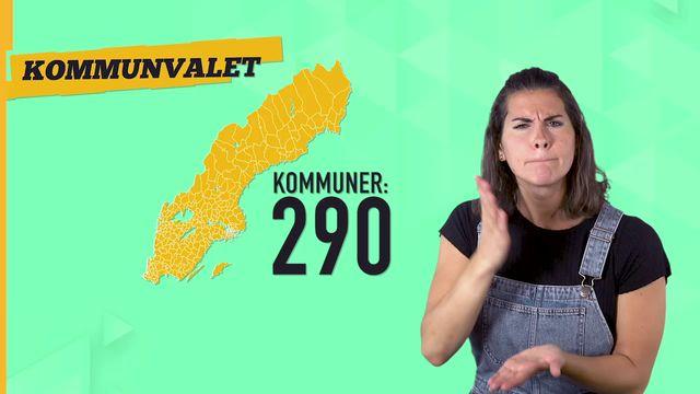 Lilla Aktuellt teckenspråk - Valet : Inte ett val - utan tre