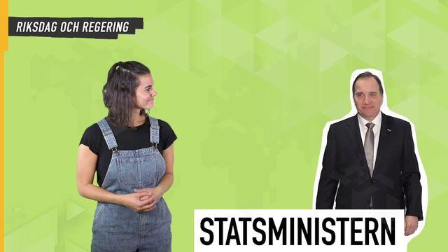 Lilla Aktuellt teckenspråk - Valet : Regering och riksdag
