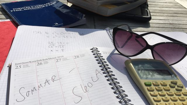 Lärarrummet : Matteplugg på sommarlovet