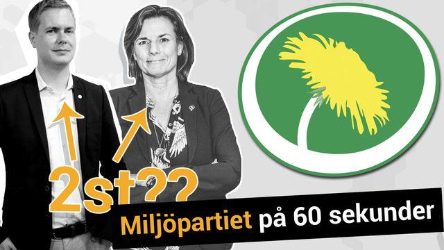 Lilla Aktuellt teckenspråk - Valet : Miljöpartiet