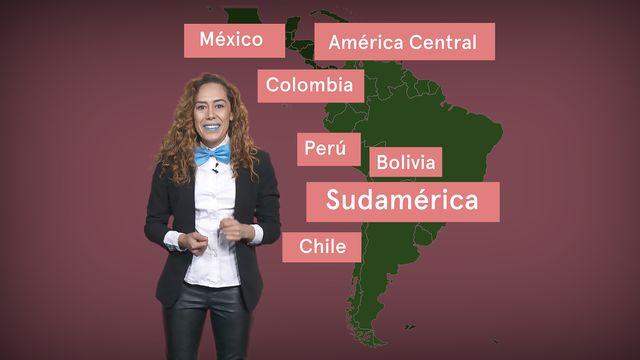 ¡Habla ya! - Minicurso : Países de habla hispana