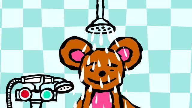 Pinos dagbok - teckenspråkstolkat : Pino badar