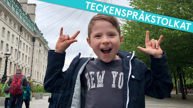 Superungar - teckenspråkstolkat : Liam