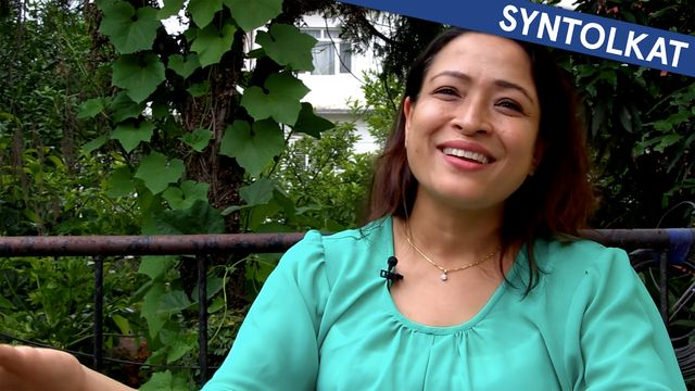 Alla funkar olika - min berättelse - syntolkat : Sunita