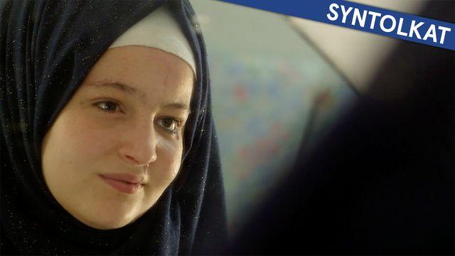 Alla funkar olika - min berättelse - syntolkat : Sara