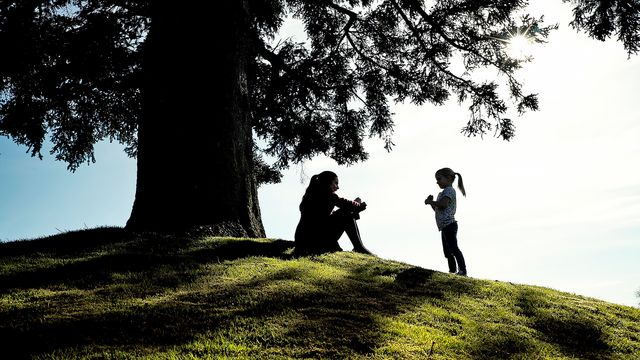 Kortfilmsklubben - engelska : The silent child - svensktextad