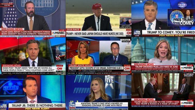 UR Samtiden - Mediedagarna i Göteborg 2018 : Den visuella journalistiken i Donald Trumps tidevarv