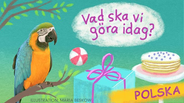 Vad ska vi göra idag? - polska : Bengt och Bodil går i skolan