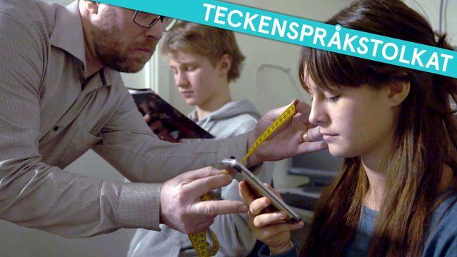 Kolla myten - teckenspråkstolkat : Blir du närsynt av mobilen?