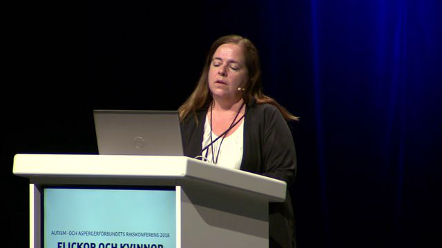 UR Samtiden - Flickor och kvinnor med autism : Vad säger Socialstyrelsen