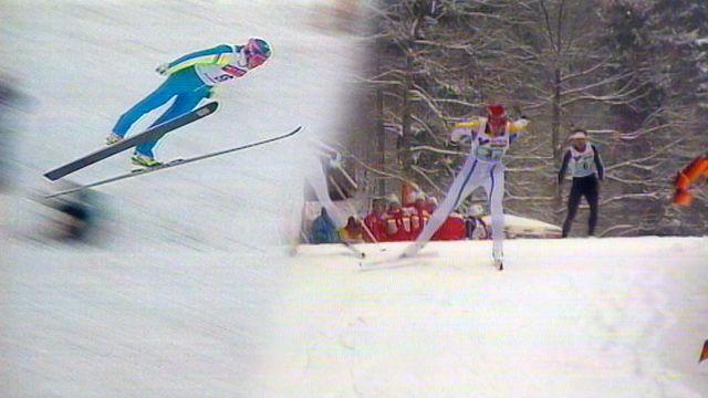 Ögonblicken som förändrade sporten : På snö