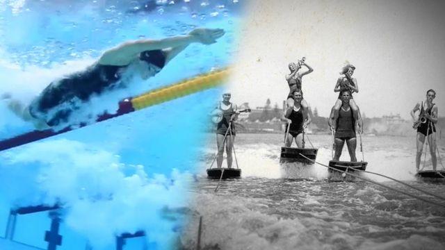 Ögonblicken som förändrade sporten : I vatten