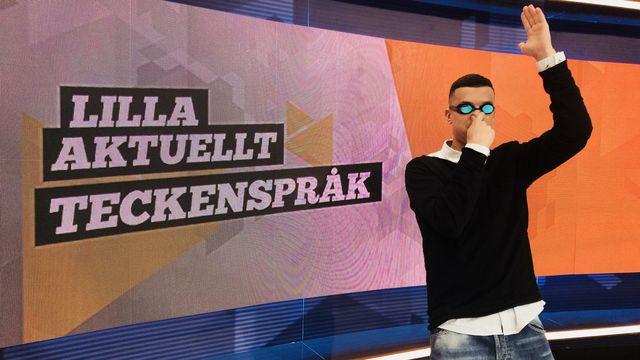 Lilla Aktuellt teckenspråk : 2019-03-01