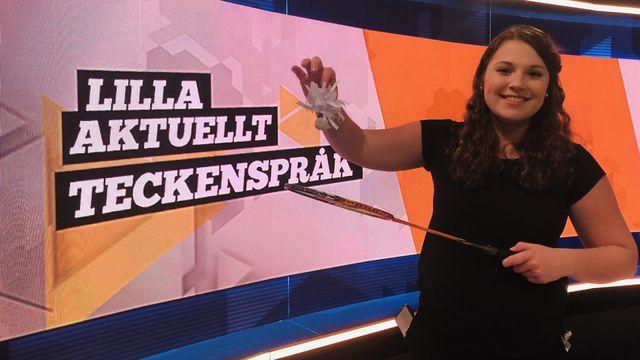 Lilla Aktuellt teckenspråk : 2019-04-26