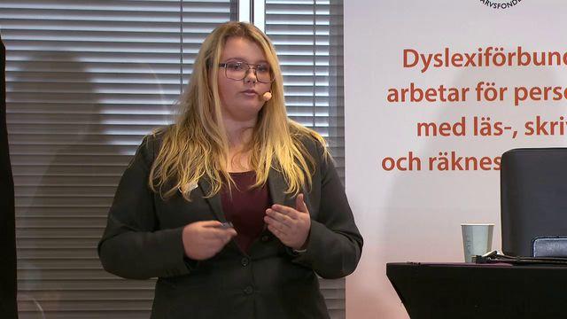 UR Samtiden - Dysleximässan 2018 : Lyckas med allt, trots dyslexi