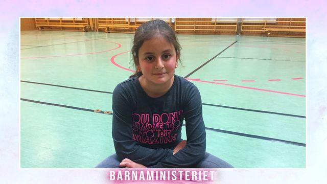 Barnaministeriet : Drömmen om gymnastik