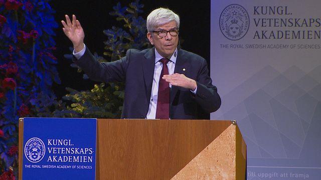 UR Samtiden - Nobelföreläsningar 2018 : Paul M Romer, ekonomi