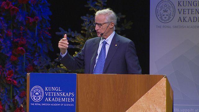 UR Samtiden - Nobelföreläsningar 2018 : William D Nordhaus, ekonomi