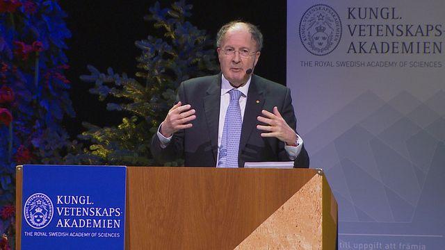 UR Samtiden - Nobelföreläsningar 2018 : Gregory P Winter, kemi