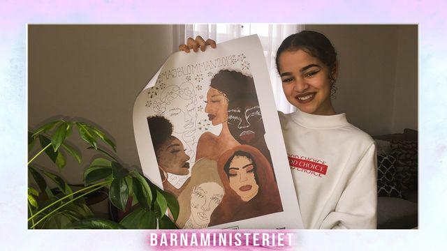 Barnaministeriet : Alice, affischen och vuxenmobben