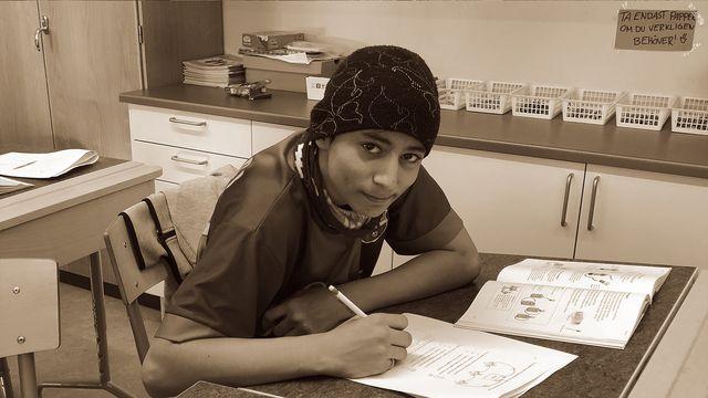 Lärarrummet : Ivans dröm är att få gå i skolan