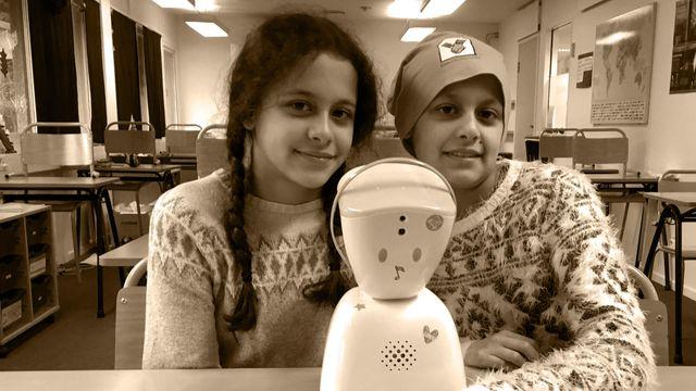 Lärarrummet : Trots sjukdom kan Natalie hänga med i skolan