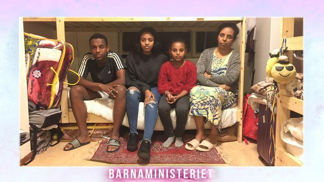 Barnaministeriet : Hur trångt kan man bo?