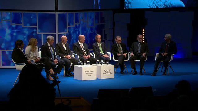 UR Samtiden - Nobel week dialogue 2018 : Vatten som gemensam nämnare
