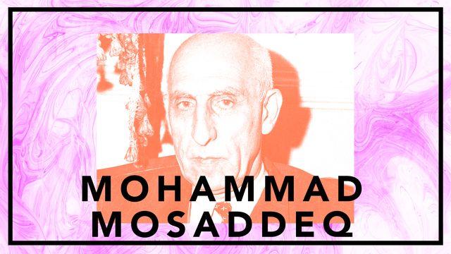 Bildningsbyrån - tänka mot strömmen : Mohammad Mosaddeq - den gråtande demokraten
