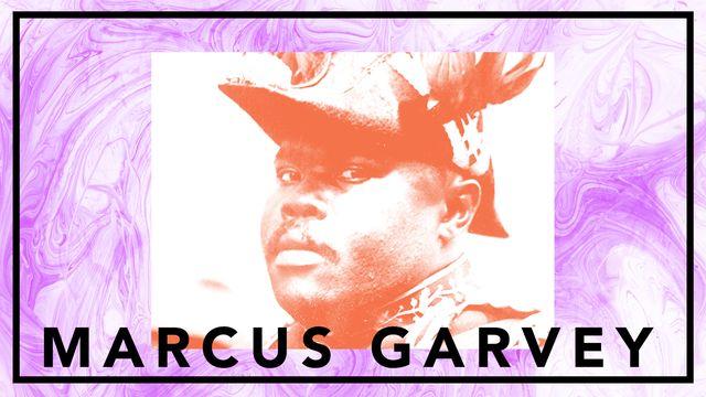 Bildningsbyrån - tänka mot strömmen : Marcus Garvey - vänd inte andra kinden till