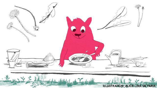 Tripp, Trapp, Träd - lätt svenska : Hungrig