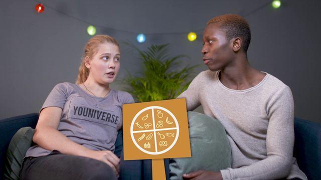 Elin, Alvin och vuxenlivet : Laga mat