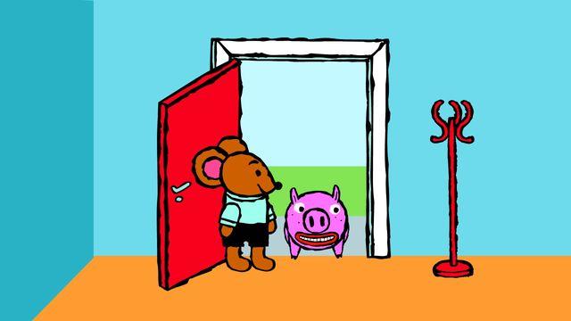 Pinos dagbok - filipino : Pino och grisen