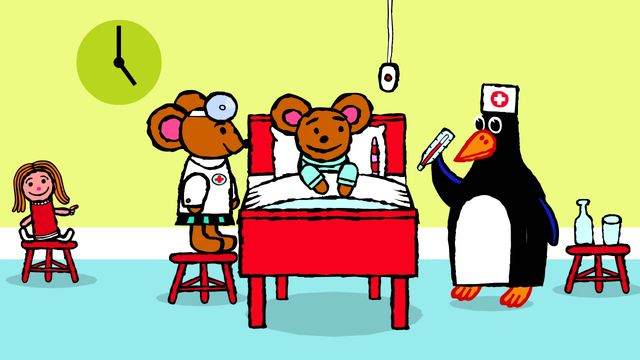 Pinos dagbok - thai : Pino på sjukhus