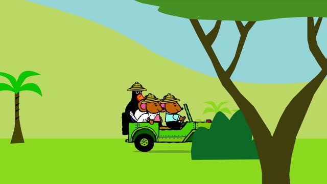 Pinos dagbok - thai : Pino på safari