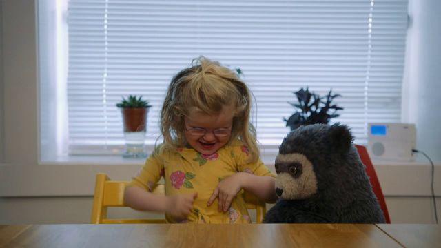 Brillebjörn : Gungan