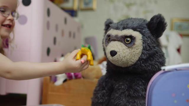 Brillebjörn : Den goda maten