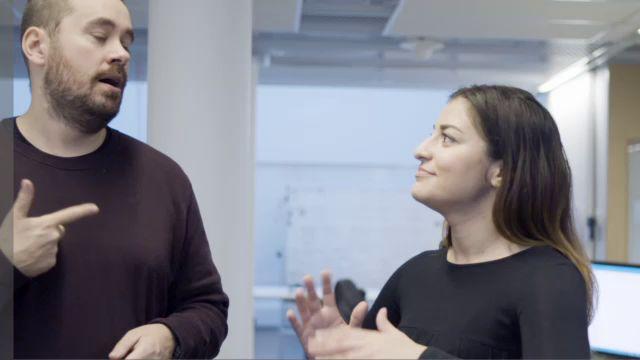Teckenspråk hur? : Nyhetstext