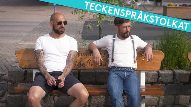 PK-mannen - teckenspråkstolkat : Är lantisar inskränkta?